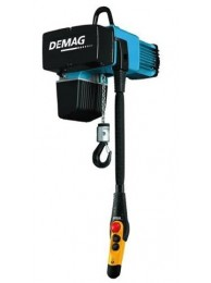 Demag Electric DC-Com Chain Hoist, 275 lb. Load Capacity, 230V, 16 ft. Hoist Lift, 32/8 fpm